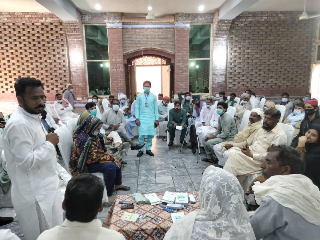 پنجاب بھر کی بھٹہ مزدور تنظیموں کا مشترکہ اجلاس